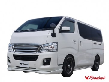 Roadster Phantom Front Lip - Nissan Caravan NV350 Standard Body