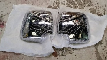 Style Ace Chrome Mirror Covers (Square Mirror Shape Only)