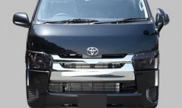 Style Ace Smoked Headlight Replacements - Hiace 2014+ Manual Adjust (Pair)
